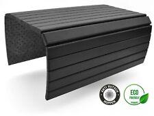 D&D Sofatablett - Flexible Couch Ablage für Armlehne aus Holz 50x35 cm Schwarz