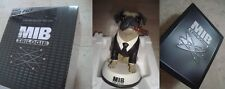 *NEW* Men in Black TRILOGY 4DISC 3D BluRay STEELBOOK +solid FRANK THE PUG Statue