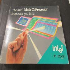 A80387dx, 387dx Intel MATH CO-processore 16 MHz, nuovi e confezionati, vintage da collezione