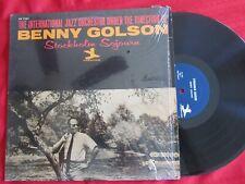 Benny Golson - Stockholm Sojourn - orig LP Prestige PR 7361 1965 blue label VG++