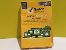 Norton By Symantec Norton Security With Packup Premium 10 Devices