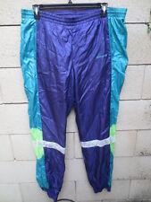 Pantalon ADIDAS VINTAGE violet années 90 parachute nylon pant oldschool 186 XL