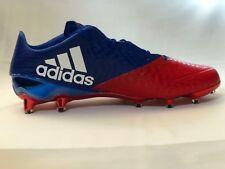 hot sales 34db6 e41fb Adidas Football Cleats Metallic Chrome Red blue White (AQ7146) size 13