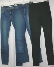 Lot of 3 Womens Jeans Zara (06) ~ Vibrant (3) ~ Pieces (Sm)