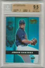 Johan Santana 2000 Bowmans Best Rookie RC #/2999 BGS 9.5 Gem Mint *TWINS* Topps
