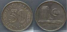 Malaysia Maleisië - 50 Sen 1967