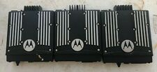 Lot Of 3 Motorola Xtl5000 P25 Radio M20urs9pw1an Untested Sold As Is