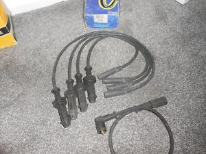 CITROEN AX,ZX,BX,C15, PEUGEOT 106 205 309 405 HT IGNITION PLUG LEAD SET 33.98