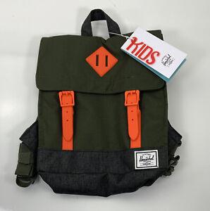 Herschel Supply Co. Survey Kids Backpack 5.5L (OD Green/Orange)