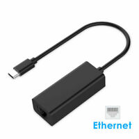 LENTION USB C to Ethernet RJ45 Network Wired Adapter for Macbook Pro Air ASUS hp