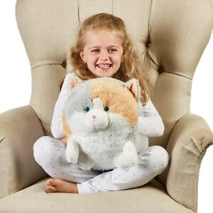 Warmies Supersized Hand Warmer Cat - cosy, cuddly, plush, microwaveable, heated,