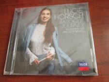 Lucie Horsch The Academy Of Ancient Music - Baroque Journey (CD 2019) NEW SEALED