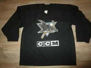 San Jose Sharks NHL Ice Hockey CCM Jersey XL Mens