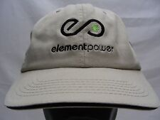 ELEMENT POWER - BAYSIDE - ADJUSTABLE STRAPBACK BALL CAP HAT!