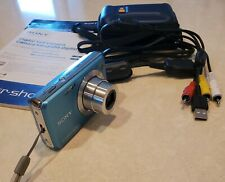 Sony Cyber-shot - 12.1 MP Digital Camera - bundle w case, cords, charger, manual