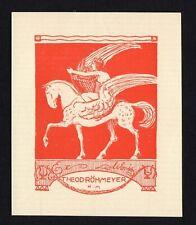 04)Nr.066- EXLIBRIS- Hans Meid, Pegasus