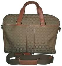 GUC ~ Coach 70058 Hudson Computer, Laptop, Messenger Bag, Khaki / Tan