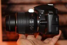 EXCELLENT Nikon D3300 24.2MP DSLR Camera with DX VR II 18-55mm + Wide Angle Lens