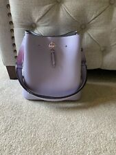 NWT Kate Spade marti large bucket bag tote satchel FROZEN LILAC $399 conver