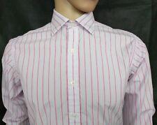 Emma Willis London Dress Shirt Size 15.5 / 42 M Pencil Stripe RRP£240 England
