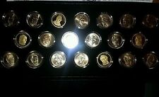 2009 Preidental dollars complete Uncertified series all types minted P D S proof