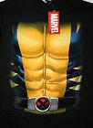 Marvel Comics Classic Wolverine X-Men Chest Comics T-Shirt New LG Tag Mad Engine