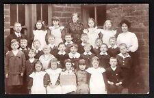 Cumberworth near Alford. School Group.