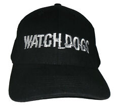 Watch Dogs Black Baseball / Outdoor Cap Embroidered Quality Hat