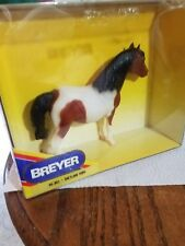 1990s Breyer matte matte pinto black mane tail Shetland pony wirh original box