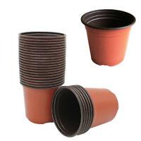 10/100PCS Plant Flower Pot Flowers Nursery Vegetables Starting Plant Container