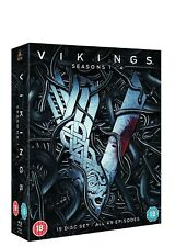 Vikings Seasons 1 to 4 Blu-ray UK BLURAY