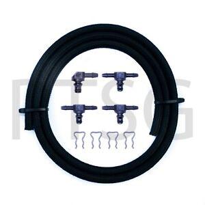 Alfa Romeo Injector Leak Off Kit to fit Bosch Injectors 3x180° / 1x90° /1M Hose