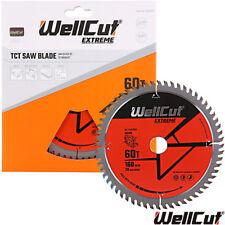 Wellcut TCT Circular Wood Saw Blade 160mm x 20mm x 60T Festool TS55 Makita Bosch