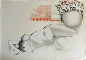 Piero Tredici litografia un giorno come un altro 70x50 firmata numerata 1976