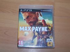 MAX PAYNE 3 - VF - PS3 boite CD livret