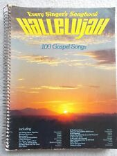 Hallelujah 100 Gospel Songs Voice Piano Guitar Unmarked