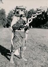 LE DIEU TONNERRE c. 1950 - Indien Costume Masque Curiosité - DIV 9434