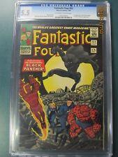 FANTASTIC FOUR #52 CGC 5.5 1ST BLACK PANTHER