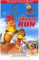 CHICKEN RUN MOVIE POSTER 27x40 video 1sht From the makers of WALLACE AND GROMIT