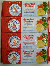 Voortman Assorted Festive Holiday Cookies - 4 packages - Best By:  6/26/20