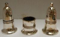 Vintage Belvin Silver Plate Salt & Pepper Pot Set