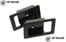 DEFENDER DOOR HANDLE SURROUND PAIR BLACK ANODISED ALUMINIUM BRAND NEW DA8953