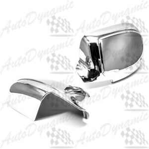 FOR CHEVY AVALANCHE TAHOE GMC YUKON ESCALADE EXT CHROME SIDE MIRROR COVER COVERS