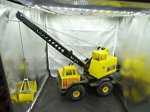 Vintage Tonka Pressed Turbo Diesel Crane Truck Toy XMB - 975
