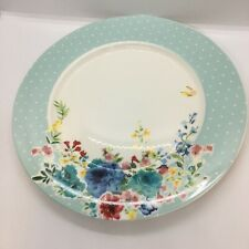 Grace's Teaware BLUE MEADOW Dinner Plate Beautiful Floral Design NEW