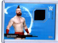 WWE Sheamus 2017 Topps Undisputed Event Worn Shirt Relic Card SN 4 of 199