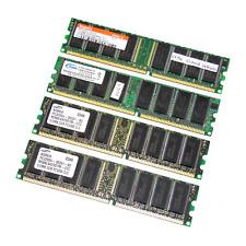 Assorted 2GB Kit (4 x 512MB) PC3200 400MHz 184-Pin DDR Desktop RAM