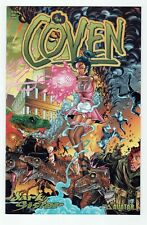 Avatar The Coven: Dark Sister (2001) #1 Wrap VARIANT Cover VF/NM 9.0 or Better