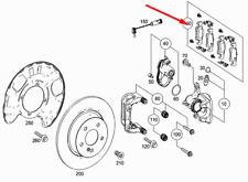 Mercedes-benz Gle W166 Set Pastiglie Freno Posteriori A0074208320 New Originale