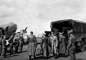 Germans Surrender At Luneberg Heath 1945 OLD PHOTO